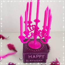 Mit Strich Faden Ein Kronleuchter Zum Geburtstag