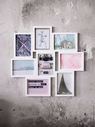 ikea vaxbo collage picture frame 8 pictures white wall decoration