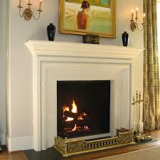 brooke limestone fireplace surround