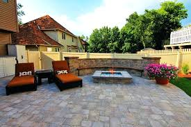 square paver patio with fire pit. Delighful Patio Landscape Pavers Fire Pit Custom Square Gas Design Around Paver  Patio On With