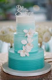 Turquoise And White Wedding Decorations 17 Best Ideas About Turquoise Wedding Cakes On Pinterest Teal