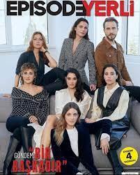 "Just Turkish - أبطال مسلسل""طيف اسطنبول"" على غلاف مجلة..."