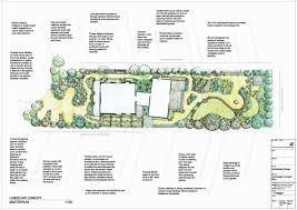 How To Make A Landscape Design Plan Hand Drawn Landscape Concept Plan Ocean Road Landscaping