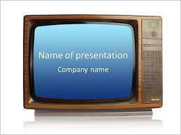 tv powerpoint templates old fashioned tv powerpoint template backgrounds id 0000007030