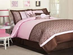 pink and brown bedroom decorating ideas photo - 1