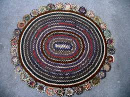 the small round braided rugs