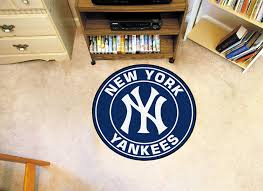 emerging yankees rug com fanmats 18144 mlb new york roundel mat team
