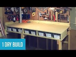 easy diy 35 wall mounted workbench w