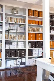 organizing home office. Boxes And Binders In A Beautifully Organized Office Space - How To Organize Your Home Style Organizing