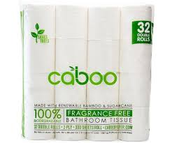 Amazon.com: Caboo Tree Free Bamboo Toilet Paper, Septic Safe ...