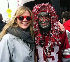 sports fan face paint. ohio-state-fan-face-paint sports fan face paint
