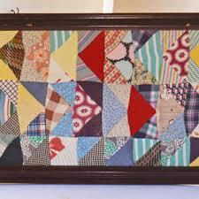 """Vintage Childs Picture - """"The Awakening"""" from Vintassentials on & Framed Antique Quilt, Framed Quilt, Quilt Picture, Quilt Art Framed, Extra  Large Adamdwight.com"""