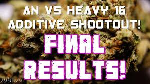 Heavy 16 Nutrient Chart An Vs Heavy 16 Additive Shootout Final Money Maker Sfvog