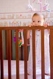 green baby furniture. Baby Chewing On Wooden Crib Green Natural Non-toxic Safe Furniture Paint Stains T