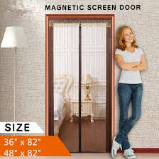 Magnetic Screen Door Anti Mosquito Insect Fly Screen Net Window Mesh ...