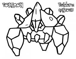 Small Picture Pokemon Boldore Coloring Pages Pokemon Coloring Pages