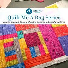 Most Popular Quilt Blogs Textured Quilt Sampler Tutorial Most ... & ... Quilt Me A Bag Roll With It Tote Andrie Designs Most Common Quilt  Patterns Most Popular ... Adamdwight.com