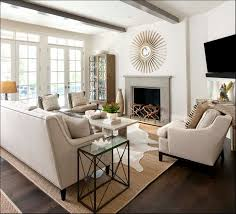 beautifull awesome family room with white sofa near small spaces furniture and with wall decor for