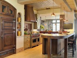 Farm Kitchen Built In Kitchen Sink Under Triple Pendant Lamps Farm Kitchen