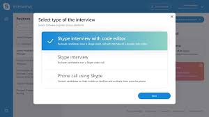 next input the candidate and interviewer s name and email address and either enter an agreed upon time and date for the interview or select the smart
