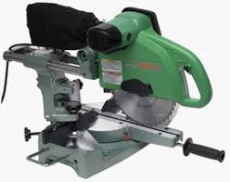 hitachi km12vc. hitachi - 10-inch dual slide compound miter saw c10fs km12vc