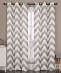 vcny athens blackout window curtains grommet thermal 2 panel set gray chevron 84 length discontinued no longer available