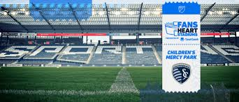 Sporting Kc Seating Chart Fans Heart Stadiums Presented By Seatgeek Childrens Mercy