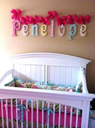 wooden letter wall decor. Wooden Letters For Baby Nursery Painting Room Decorated Wood Letter Wall Decor Woo I