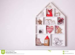 Christmas Decorations For The Wall Christmas Decorations On The Wall Stock Photo Image 64110583