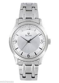 bulova stainless steel men s watch model 96a000 bulova stainless steel men s watch 96a000