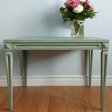 milk paint and gel stain furniture