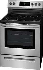 frigidaire self cleaning freestanding electric range silver ffef3054ts best