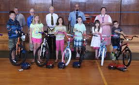 Wilton Masons award bikes to young readers | Daily Bulldog