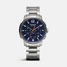 coach bleecker chrono stainless steel bracelet watch for men coach bleecker chrono stainless steel bracelet watch for men