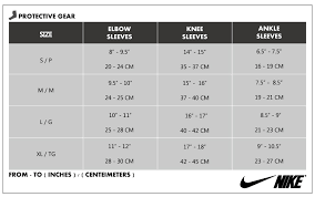 Nike Knee Pads Size Chart Details About Nike Pro Elbow Sleeve 2 0 Ap Arm Training Support Compression Gym Pick 1