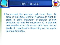Chart Of Accounts Policy Ppt Coa Revised Chart Of Accounts Powerpoint Presentation