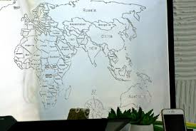 large world map wall mirror day3dream com best of for