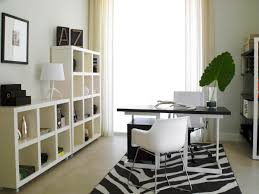 small office decoration. Small Office Ideas With Modern Furniture Design Using White Chair Completed Cabinet Decoration N