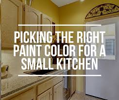paint colors for small kitchensHow to Pick the Right Paint Color for a Small Kitchen