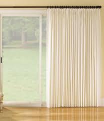 sliding glass door curtain patio door