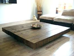 large round wood coffee table rustic square coffee table big round coffee table large round coffee