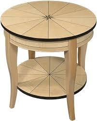 contemporary art deco furniture. attractive art deco lamp table in a sycamore veneer with ebony trim available several contemporary furniture