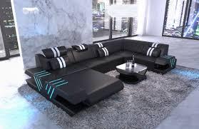 Sofa Dreams Moderne Wohnlandschaft Venedig U Form In Leder