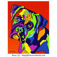 dog portraits boxer dog art dog paintings and dog portraits by michael vistia
