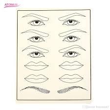 перманентная косметика для век для губ для бровей практика для тату для