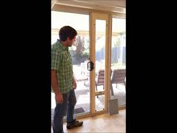 pet door for sliding glass and screen doors maximum security package you
