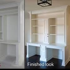 killer home office built cabinet ideas. Built In Double Desks - Upstairs Office Area Killer Home Cabinet Ideas