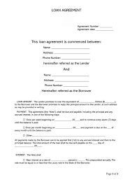 Permalink to Sample Letter Of Loan Agreement With Collateral : Loan Agreement Final W1540274 Docx 1 – Any changes to the agreement must be in writing.