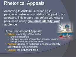 persuasive style in to kill a mockingbird the student will apply  rhetorical appeals according to aristotle succeeding in persuasion relies on our ability to appeal to