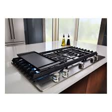 gas cooktop with griddle. KitchenAid 36\ Gas Cooktop With Griddle R